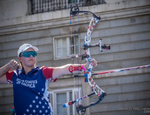 Elite Archery's Ruiz, Broadnax Bring Home Team Gold Finishes From Youth World Championships