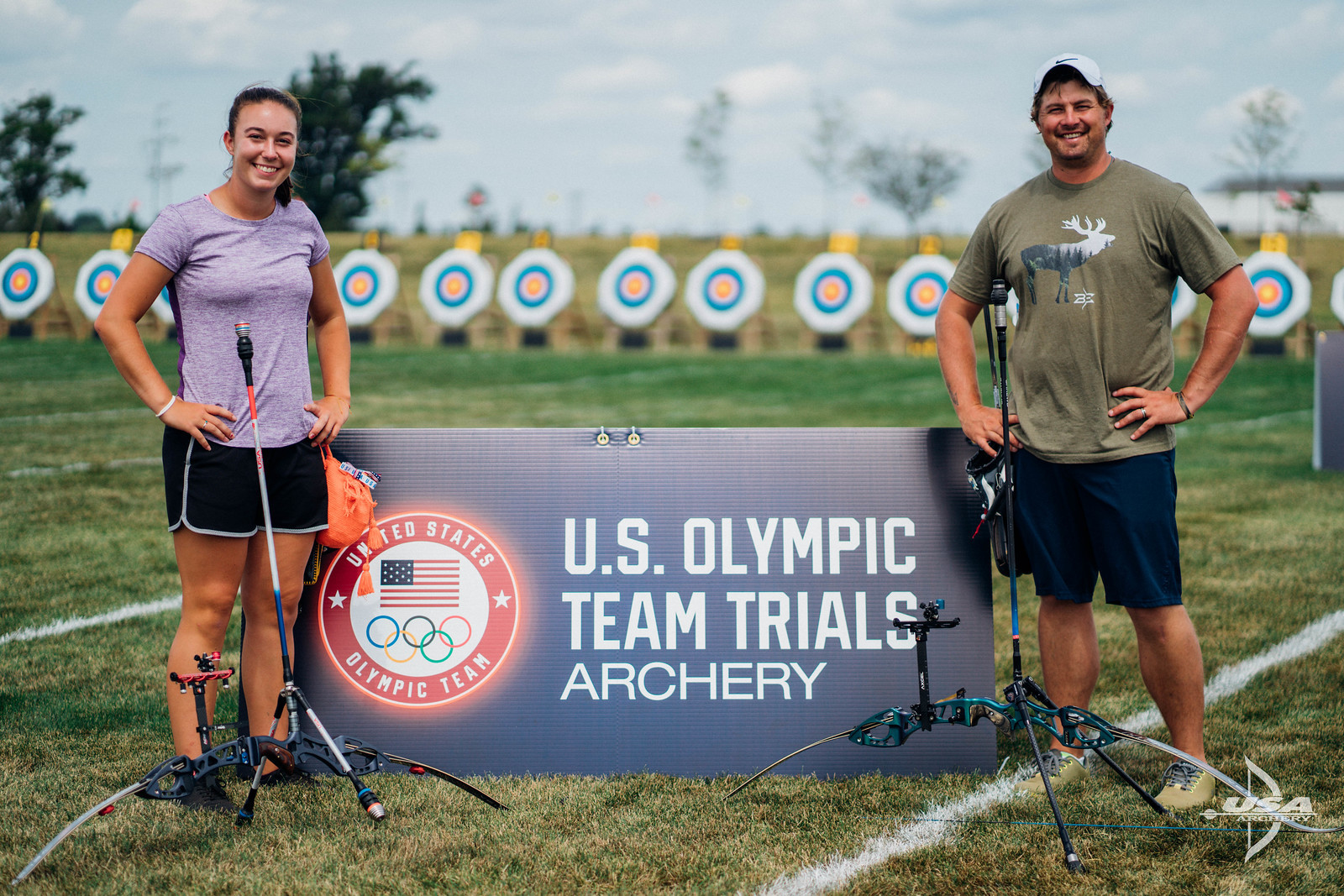 U.S. Olympic Trials for Archery Heats Up with Stage 2 in Texas